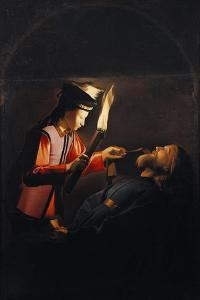 Discovery of Body of St Alexis or Death of St Alexis by Georges de La Tour