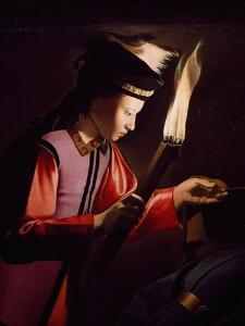 Discovery of Body of St Alexis by Georges de La Tour