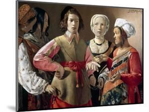 La Tour: Fortune Teller by Georges de La Tour
