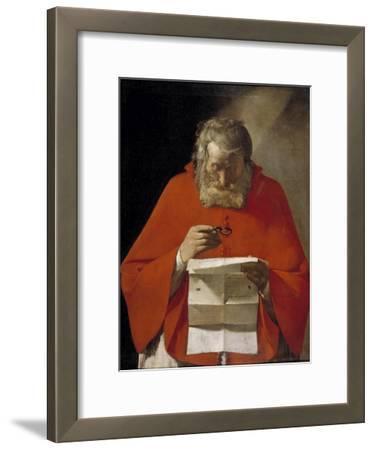 Saint Jerome Reading a Letter, Ca. 1628-1629