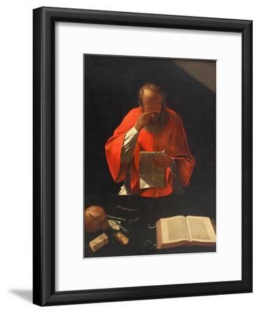 Saint Jerome Reading (Cop), Ca 1636