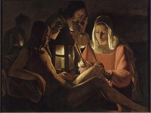 Saint Sébastien à la lanterne by Georges de La Tour