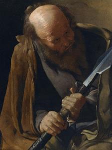 Saint Thomas the Apostle by Georges de La Tour