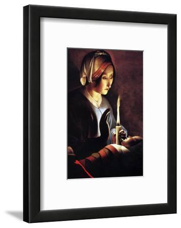 St Anne with the Christ Child by La Tour