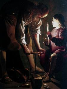 St Joseph the Carpenter, C1640 by Georges de La Tour