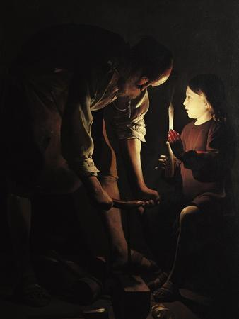 St. Joseph, the Carpenter, circa 1640