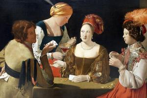 The Cheat with the Ace of Diamonds, C. 1635 by Georges de La Tour
