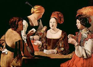 The Cheater Card Game by Georges de La Tour