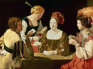 The Cheater with the Ace of Diamonds by Georges de La Tour