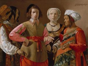 The Fortune Teller, c.1635 by Georges de la Tour