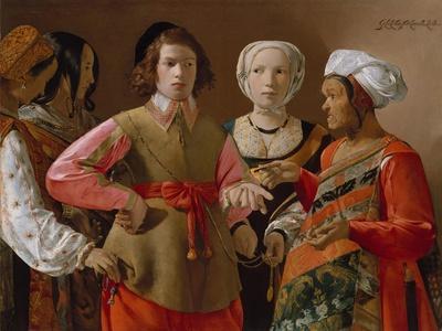 The Fortune Teller, c.1635