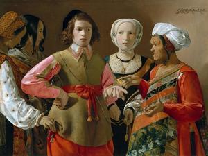 The Fortune Teller by Georges de La Tour