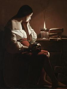 The Magdalen with the Smoking Flame, c.1638-40 by Georges de la Tour