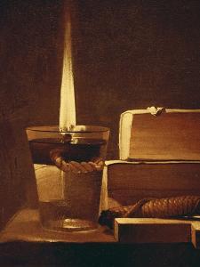 The Night Light, 1630-35 by Georges de La Tour