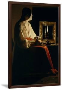 The Penitent Magdalen, c.1640 by Georges de La Tour
