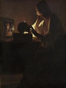 The Repentant Magdalen, 1635-40 by Georges de la Tour