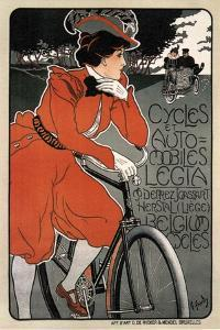 Cycles Automobiles Legia, 1898 by Georges Gaudy