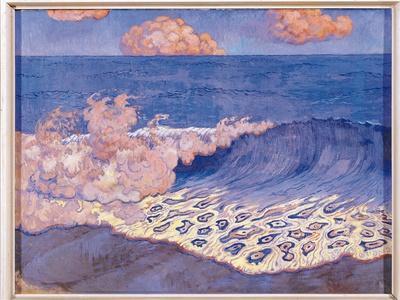 Blue Seascape, Wave Effect, c.1893