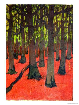 The Forest with Red Earth, c.1891