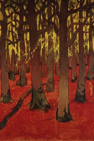 The Forest with Red Earth, C. 1891
