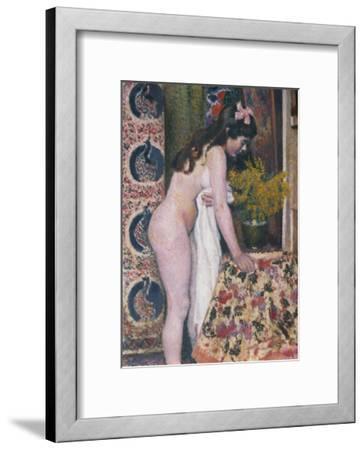 Nude Smelling the Flowers, Nu Sens Les Fleurs