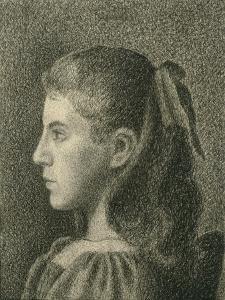 Portrait of Berthe Serruys, 1894 by Georges Lemmen