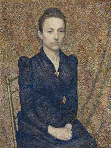 Portrait of the Artist's Sister, 1891 by Georges Lemmen