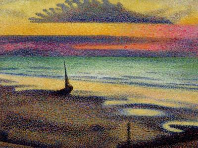 The Beach at Heist, 1891-92