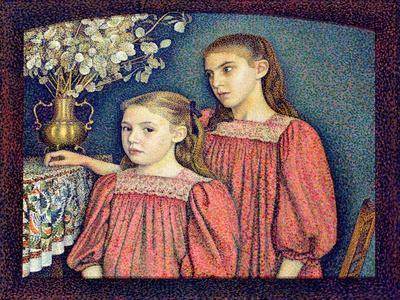 The Two Sisters, the Serruys Sisters, 1894