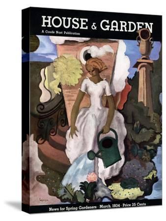 House & Garden Cover - March 1934