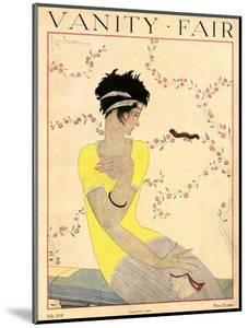 Vanity Fair Cover - July 1918 by Georges Lepape