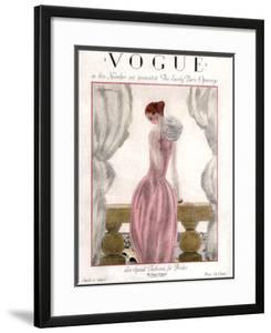 Vogue Cover - April 1923 by Georges Lepape