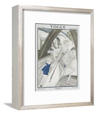Vogue Cover - August 1921