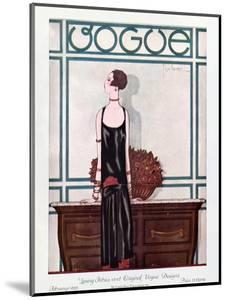 Vogue Cover - February 1925 by Georges Lepape