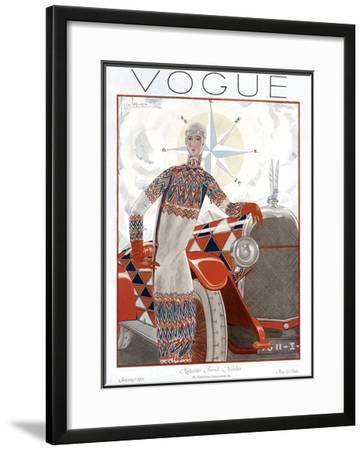 Vogue Cover - January 1925