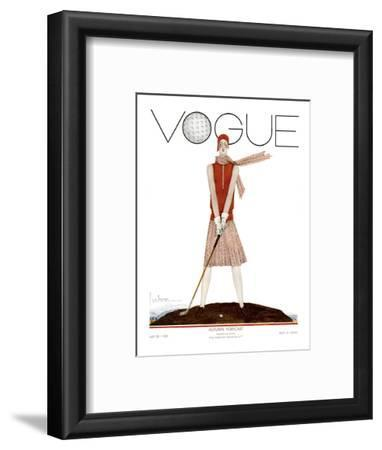 Vogue Cover - July 1929 - Tee Time