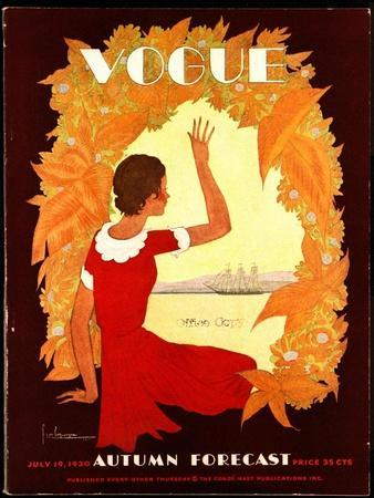 Vogue Cover - July 1930