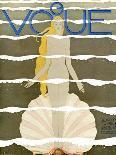 Vogue Cover - June 1923-Georges Lepape-Premium Giclee Print