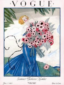 Vogue Cover - June 1923 by Georges Lepape