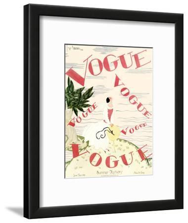 Vogue Cover - June 1924 - En Vogue