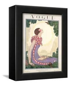 Vogue Cover - June 1925 by Georges Lepape