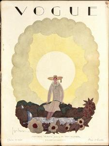 Vogue Cover - June 1926 by Georges Lepape