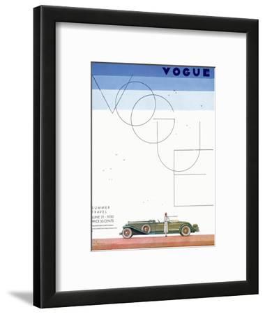 Vogue Cover - June 1930 - Summer Travel