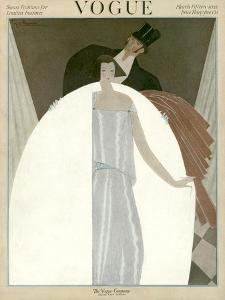 Vogue Cover - March 1922 by Georges Lepape