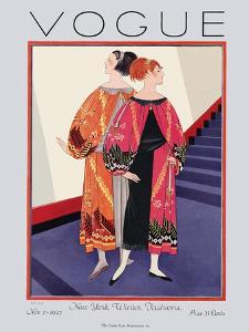 Vogue Cover - November 1925 by Georges Lepape