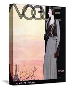 Vogue Cover - October 1930 by Georges Lepape