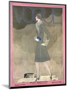 Vogue Cover - September 1928 by Georges Lepape