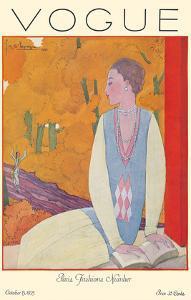 Vogue Magazine - October 1925 - Paris Fashions by Georges Lepape