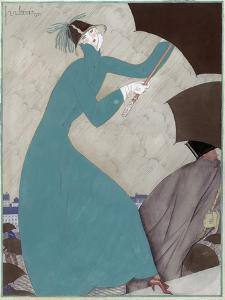 Vogue - October 1921 by Georges Lepape