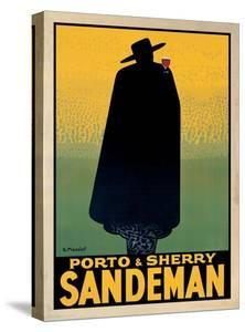 Porto and Sherry Sandeman by Georges Massiot